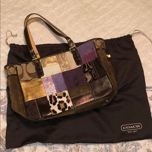 Coach Vintage 2000s Holiday Tote
